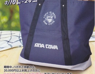 SINA COVA スプリングプレゼントフェア