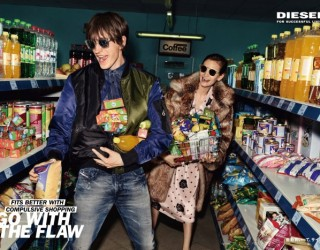 "DIESEL FALL WINTER 2017 CAMPAIGN ""GO WITH THE FLAW"""